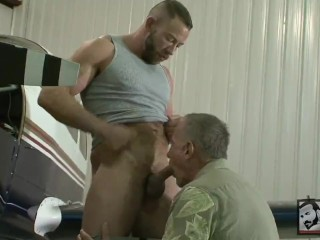 Hot Older Men, Fucking In The Garage #anal