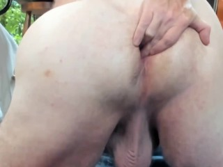 Sexy Chubby Daddy Shows His Beautiful Ass
